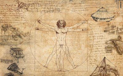 Leonard De Vinci en accord parfait avec le Feng Shui …